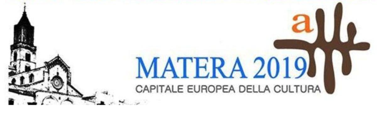 Il programma del 25 gennaio a Matera